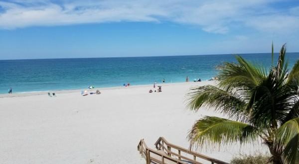 View from our Siesta Key Beachfront Lanai