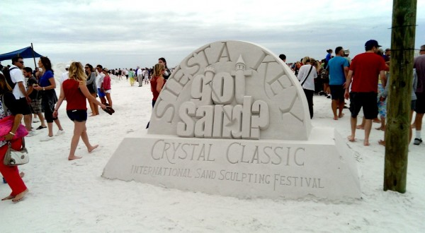 Got Sand? There's no shortage of that at the annual Siesta Key Crystal Classic