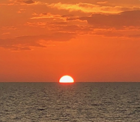 Beachfront Siesta Key Perfect Sunset 2018 October