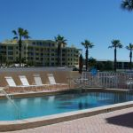 Private heated pool and adjoining clubhouse for condo guests
